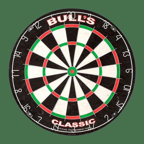 68229 Bulls Classic Dartboard Front 1