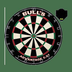 Bulls Advantage 501 Dartboard clickfix
