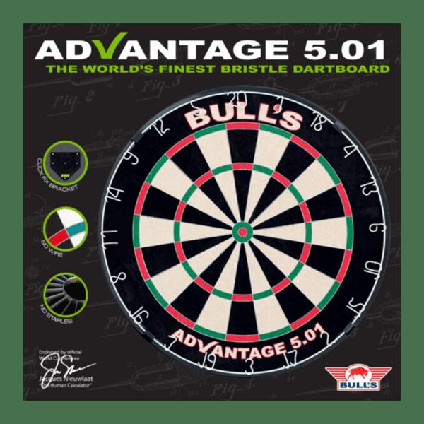 Bulls Advantage 501 Dartboard package front