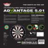 Bulls Advantage 501 Dartboard package rear
