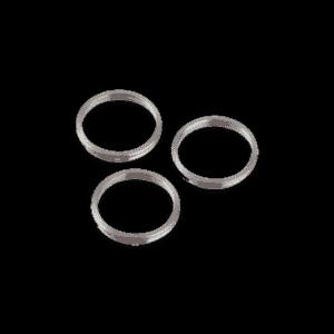 Bull's Shaft Rings Silver