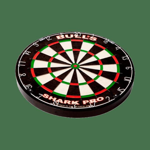 Bull's Shark Pro Dartboard flat