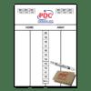 PDC Whiteboard Scoreset