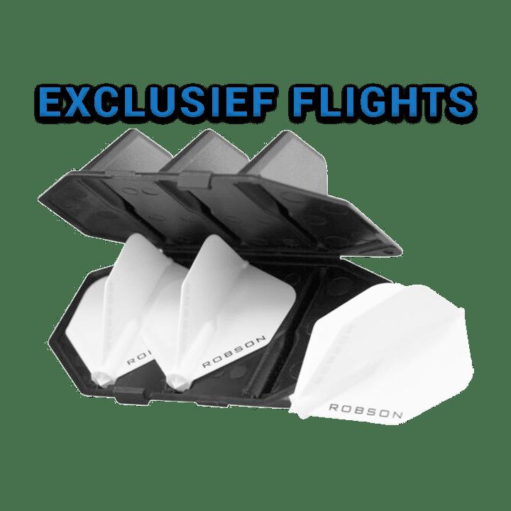 Robson Plus Flight Case Zwart (met Flight)