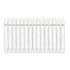 5-Pack Nylon Shaft Medium + Ring (Wit)