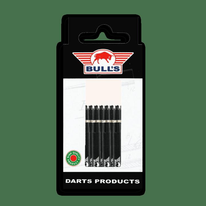 Bull's 5-Pack Nylon Shaft Medium + Ring (Zwart) Verpakking